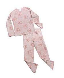 Big Girls 2-Piece Cozy Pajama Set