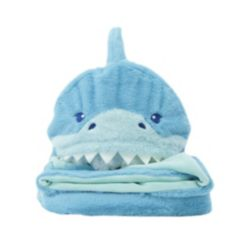 Soft Landing Everyday Escapes Weighted Blanket - Ocean-Shark
