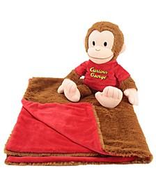 Curious George Cuddle Bundle 2-In-1 Blanket Plush Bundle