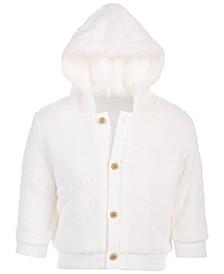 Baby Boys & Girls Fuzzy Fleece Hoodie, Created for Macy's