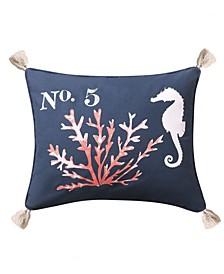 """Bakio Coral Pillow, 14"""" x 18"""""""