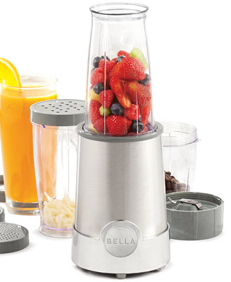 12-Piece Bella Rocket Blender, 5-Quart Bella Programmable Slow Cooker, or 2-Slice Toaster $8 after $12 Rebate + Free Store pickup at Macys or $3 shipping