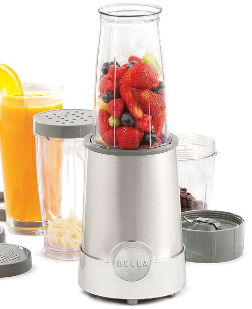 Bella 13330 Rocket Blender 12 Piece Set & Reviews - Small ...