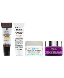 Receive a FREE 4-PC Gift with any $65 Kiehl's Purchase