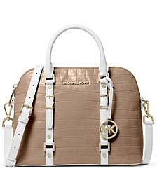 Bedford Legacy Medium Dome Leather Satchel