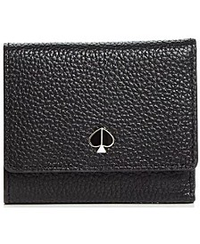 Polly Small Trifold Leather Wallet