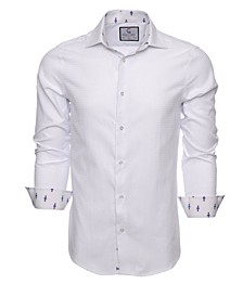 Men's Slim-Fit Long Sleeve Shirt