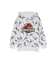 Big Boys Batman, Jurassic Park Skeletons and Ice Cube Merch License Sweatshirt