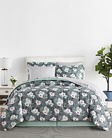 Renata 6-Pc. Reversible Twin Comforter Set