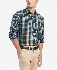 Men's Whitelaw Classic-Fit Tartan Shirt