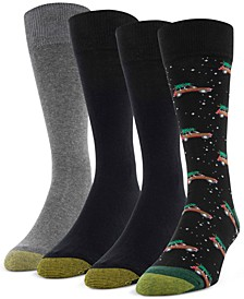 Men's 4-Pack Wagoneer Christmas Socks