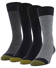 Men's 4-Pack Classic Menswear Socks