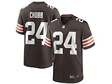 Cleveland Browns Men's Game Jersey Nick Chubb