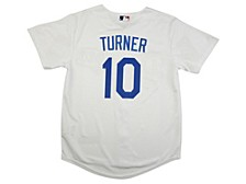Youth Los Angeles Dodgers Justin Turner Official Player Jersey