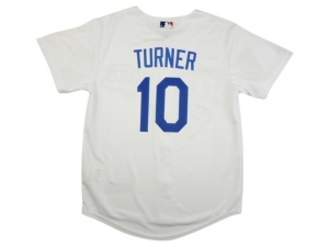 Nike Youth Los Angeles Dodgers Justin Turner Official Player Jersey