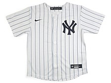 Youth New York Yankees Official Blank Jersey