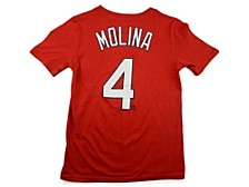 St. Louis Cardinals Youth Name and Number Player T-Shirt Yadier Molina