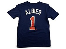 Atlanta Braves Youth Name and Number Player T-Shirt Ozzie Albies