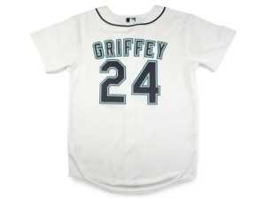 Nike Youth Seattle Mariners Ken Griffey Jr. Official Player Jersey