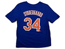 New York Mets Youth Name and Number Player T-Shirt Noah Syndergaard