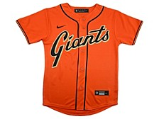 Youth San Francisco Giants Official Blank Jersey