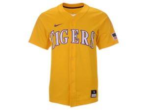 Nike Lsu Tigers Replica Baseball Jersey