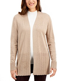 Ribbed Cardigan, Created for Macy's