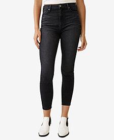 True Religion Women's Caia Ultra High Rise Skinny Fit Jean