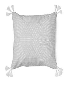 "Piper Beaded Decorative Pillow, 18"" x 18"""