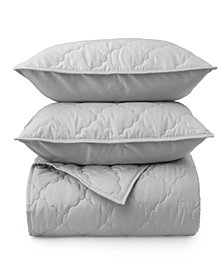 Martha Stewart Collection Emerson King Quilt, Set of 3