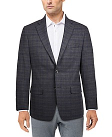 Men's Modern-Fit Plaid Sport Coat