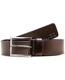 Men's Giaspo Smooth Leather Belt