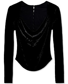 Perfect Date Cowlneck Top