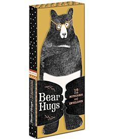 Bear Hugs: 12 Notecards and Envelopes