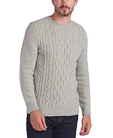 Men's Chunky Cable-Knit Sweater
