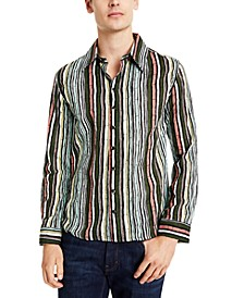 Men's Bamboo Striped Shirt
