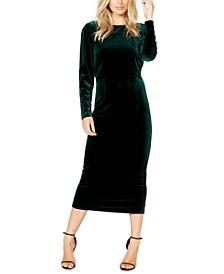 Kalani Velvet Bodycon Dress