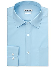 Men's Solid Turquoise Dress Shirt