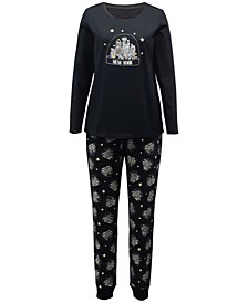 Matching NYC Snow Globe Family Pajama Set Collection, Created for Macy's