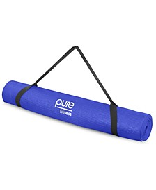 3.5mm Non-Slip Yoga Mat with Carry Strap