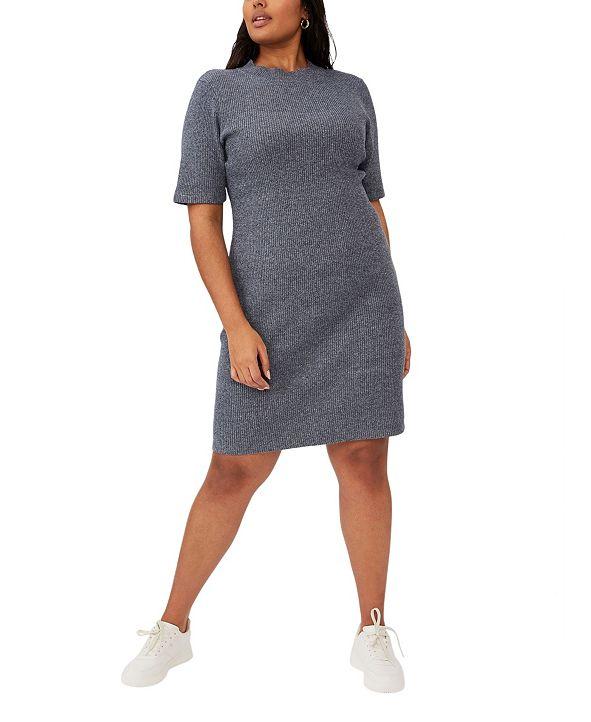 COTTON ON Trendy Plus Size Tahlia True Knit Mini Dress