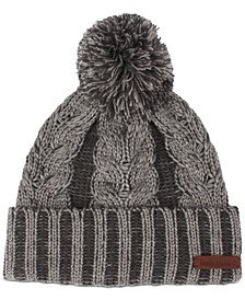 Women's Plaited Cable Cuffed Hat