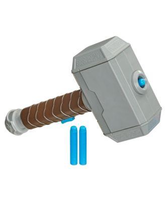 Nerf Power Moves Marvel Avengers Thor Hammer Strike Toy Kids Roleplay Toy
