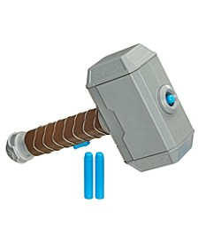 Power Moves Marvel Avengers Thor Hammer Strike Toy Kids Roleplay Toy