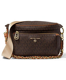 MICHAEL Michael Kors Signature Slater Medium Sling Pack Messenger