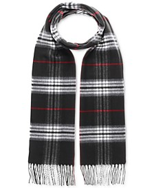 Men's Classic Plaid Scarf