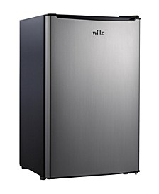 3.3 Cu Ft Compact Refrigerator Single Door with Chiller