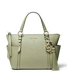 Nomad Small Convertible Top Zip Leather Tote