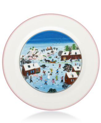 Design Naif Christmas Dinner Plate