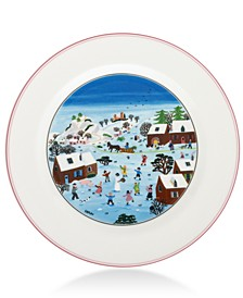 Design Naif Christmas Dinner Plate